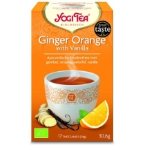 Ginger Orange with Vanilla - Yogi Tea
