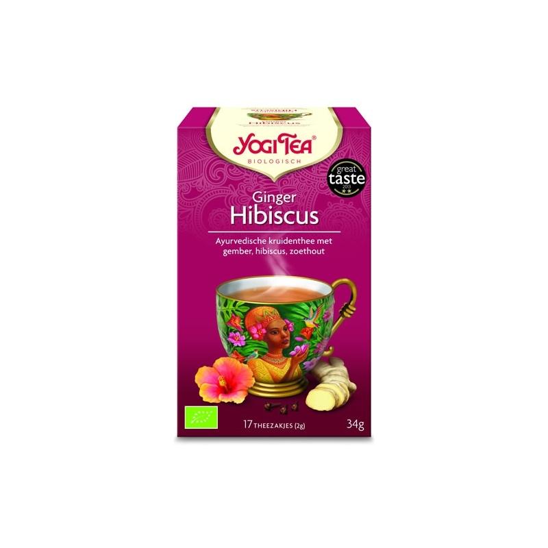 Ginger Hibiscus - Yogi Tea