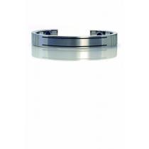 Qlink armband in staal voor mannen