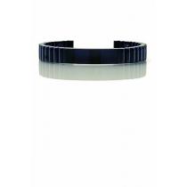 Qlink armband in titanium zwart