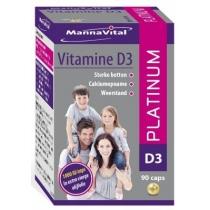 VITAMINE  D3 PEARLS - Platinum
