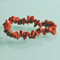 nia- Rode Jaspis splitarmband