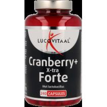 Lucovial cranberry+ X-tra Forte