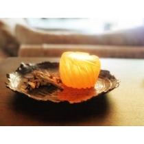Theelicht oranje seleniet
