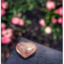 Edelstenen - hart rozenkwarts