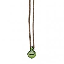 Petite E Pendant, green
