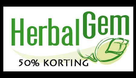 Herbalgem 50% korting